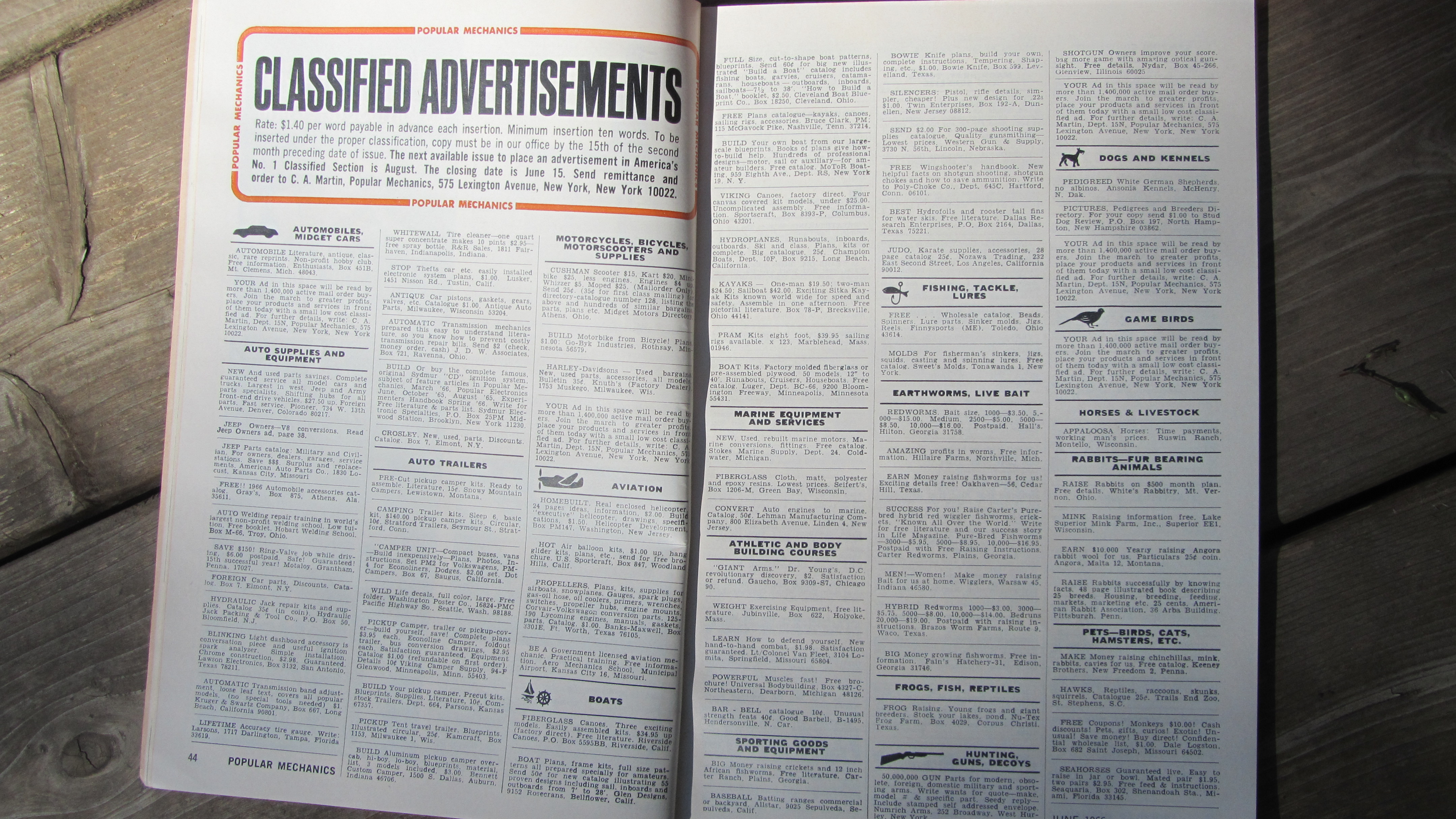 Popular Mechanics, 60's Style - Patina General